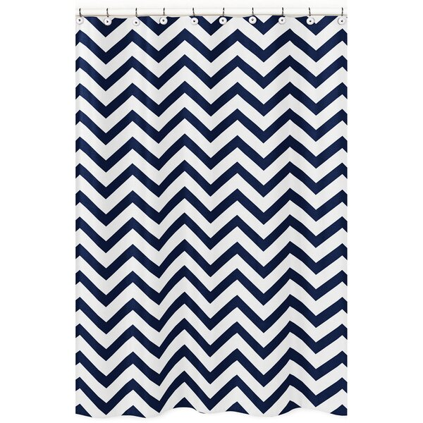 Chevron Shower Curtain by Sweet Jojo Designs