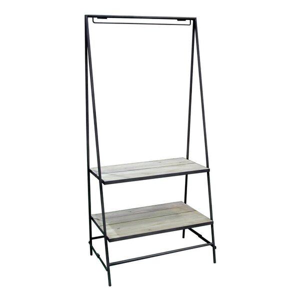 Burkholder Iron Display Ladder Bookcase by Gracie Oaks