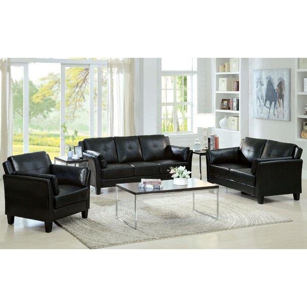 Best Price Finkle 3 Piece Living Room Set