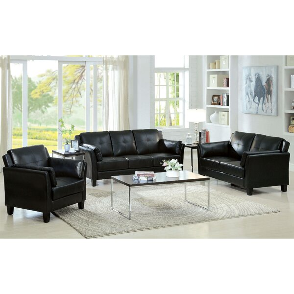 Finkle 3 Piece Living Room Set By Darby Home Co
