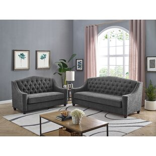 Cotaco 2 Piece Living Room Set by Charlton Home®