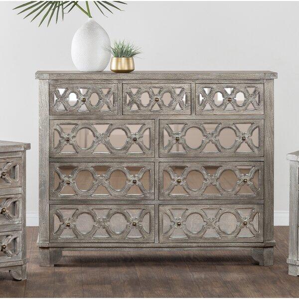 Cushing 9 Drawer Dresser by Bungalow Rose