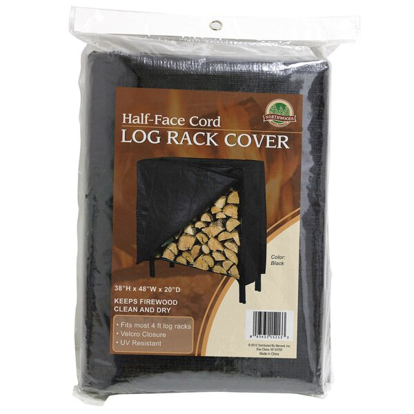 Vinyl Firewood Log Rack Cover by Panacea Products