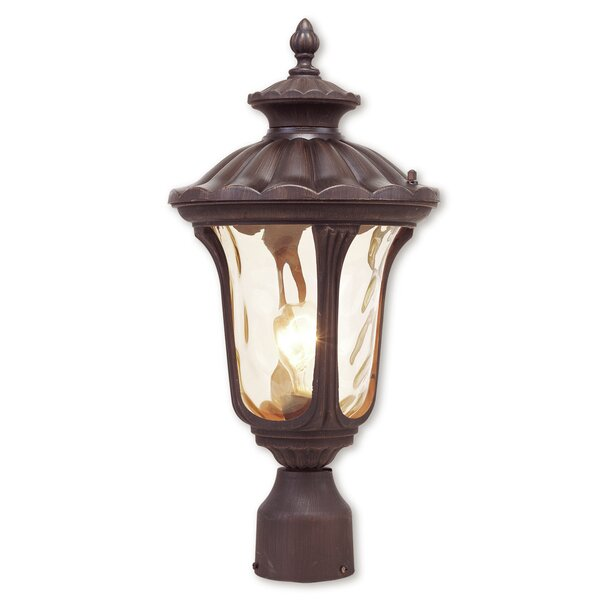 Gunnell Outdoor 1-Light Metal Lantern Head by Three Posts