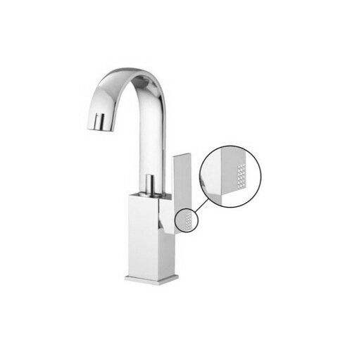 Brick Chic Single Hole Bathroom Sink Faucet with
