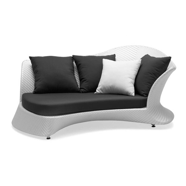 Rivage Left Facing Sofa with Cushions by 100 Essentials
