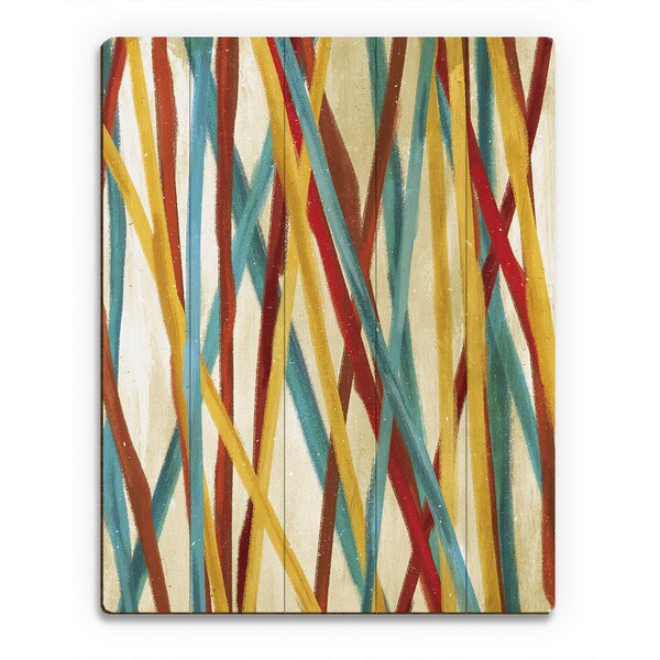 Pick Up Sticks Painting Print on Plaque by Click Wall Art