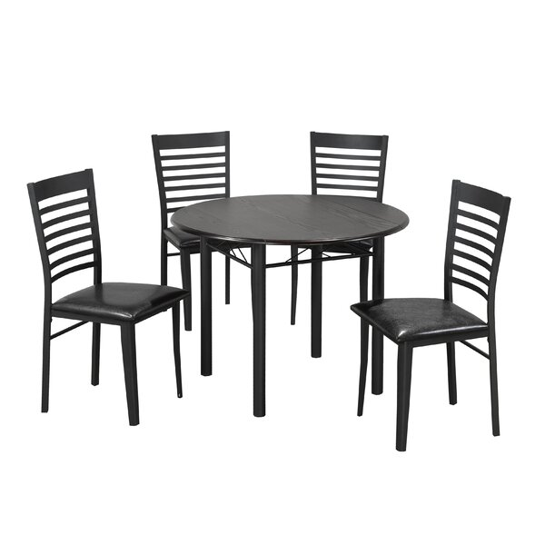Wedgewood 5 Piece Drop Leaf Dining Set by Winston Porter