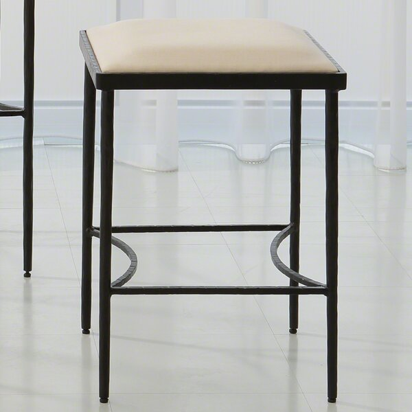 Hammered 21.5 Bar Stool by Global Views