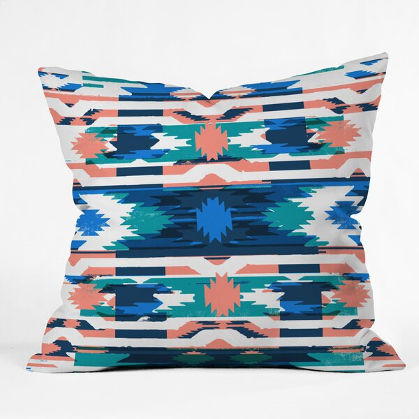 Zoe Wodarz Southwest Hustle Throw Pillow by East Urban Home