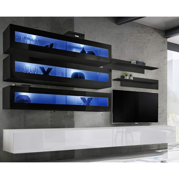 Review Voelker Floating Entertainment Center For TVs Up To 70