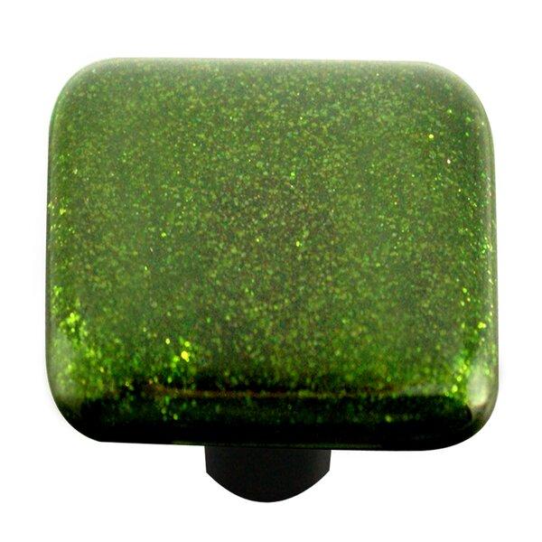 Solids Square Knob by Aquila Art Glass