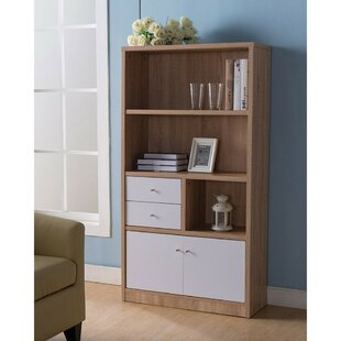 Holmes Wooden Standard Bookcase Wrought Studio Discount