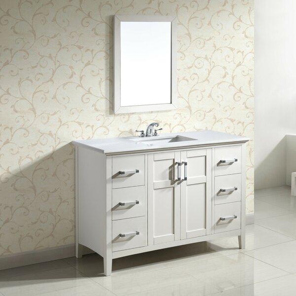 Winston 49 Single Bathroom Vanity Set by Simpli Home