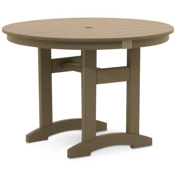 Osborn Plastic/Resin Dining Table by August Grove August Grove