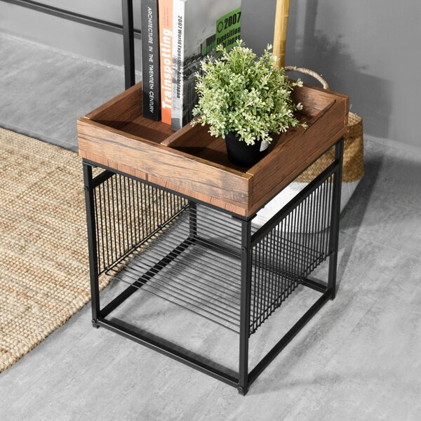 Shultz Frame Tray Table by 17 Stories 17 Stories