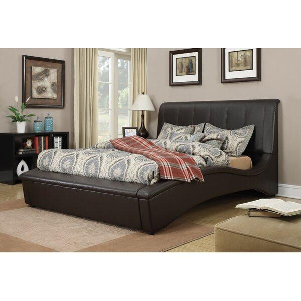 Deshields Upholstered Sleigh Bed by Brayden Studio