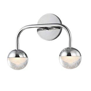 Best Reviews Raze 2-Light LED Vanity Light By Mercer41