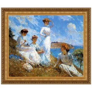 Summer, 1909 by Frank W. Benson Framed Painting Print by Design Toscano