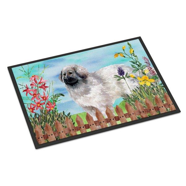 Moscow Watchdog Spring Non-Slip Outdoor Door Mat