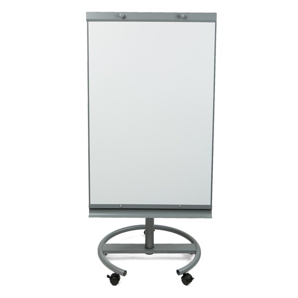 Portable Dry Erase Easel 360 Degree Rotating Magnetic Free-Standing Whiteboard, 25.5 x 54 by Mind Reader