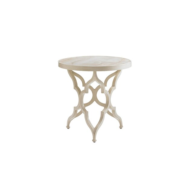 Misty Garden Aluminum Side Table by Tommy Bahama Outdoor