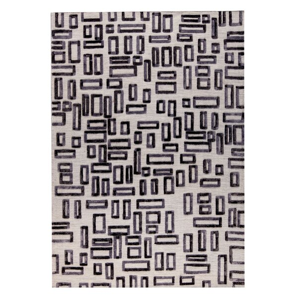 Fermont Hand-Woven Gray Area Rug by M.A. Trading