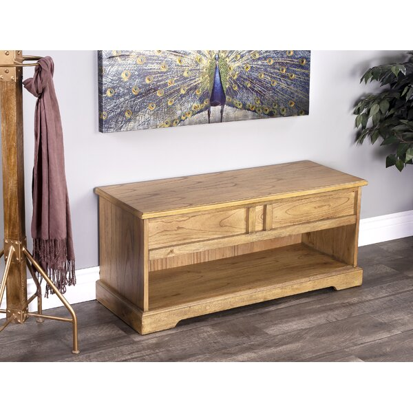 Vanderpool Wood Flip Top and Cubby Storage Bench