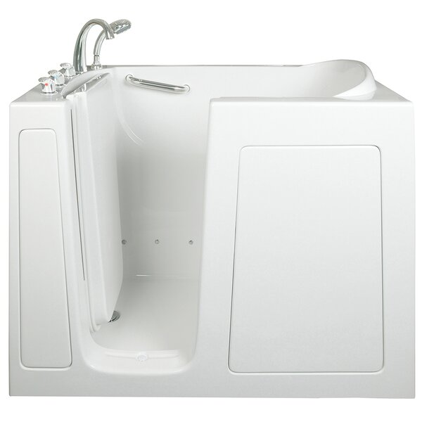 Low Threshold Air and Hydro Massage Whirlpool Walk-In Tub by Ella Walk In Baths