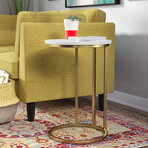 Maeve Round End Table by Orren Ellis
