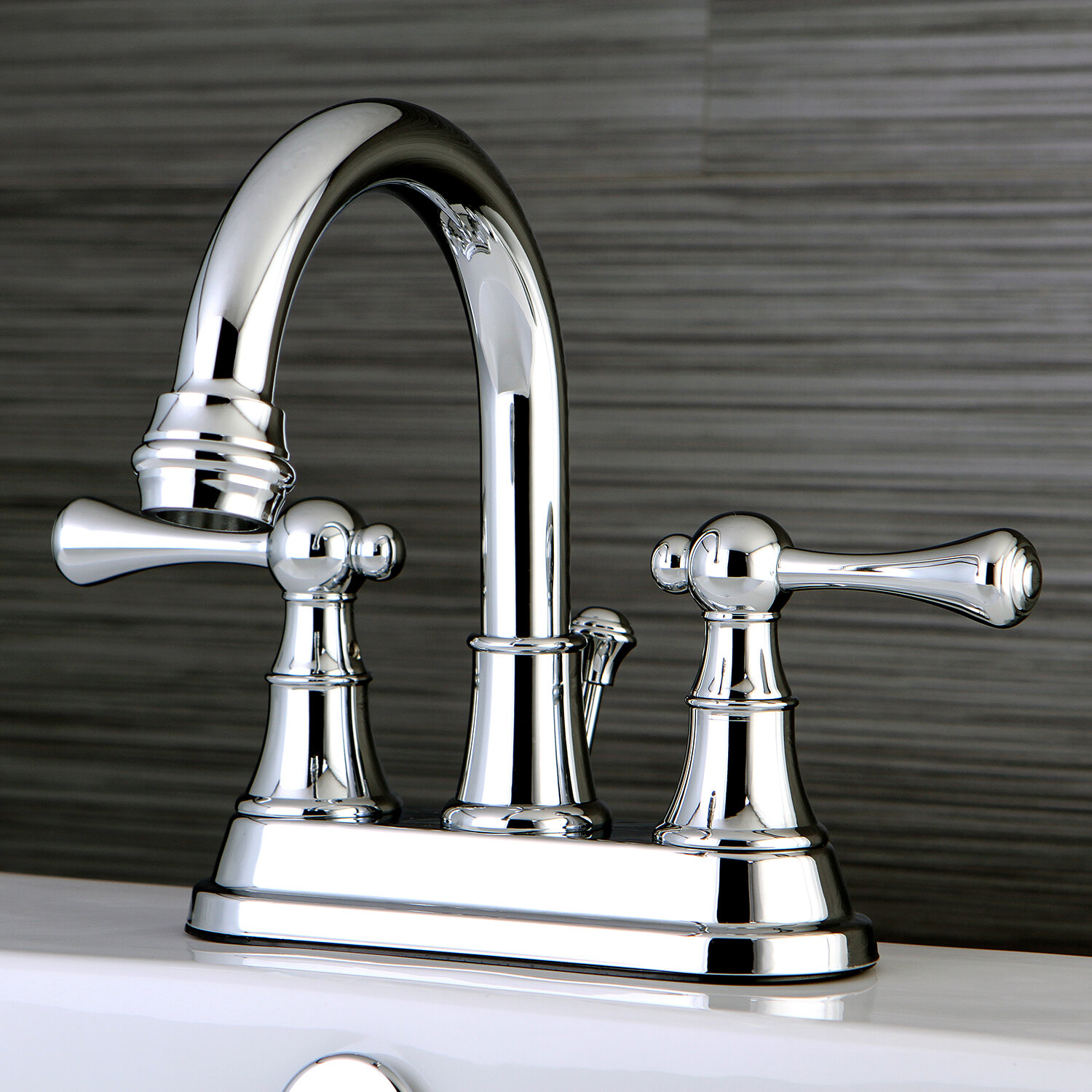 Kingston Brass Centerset Bathroom Faucet with Drain Assembly | Wayfair