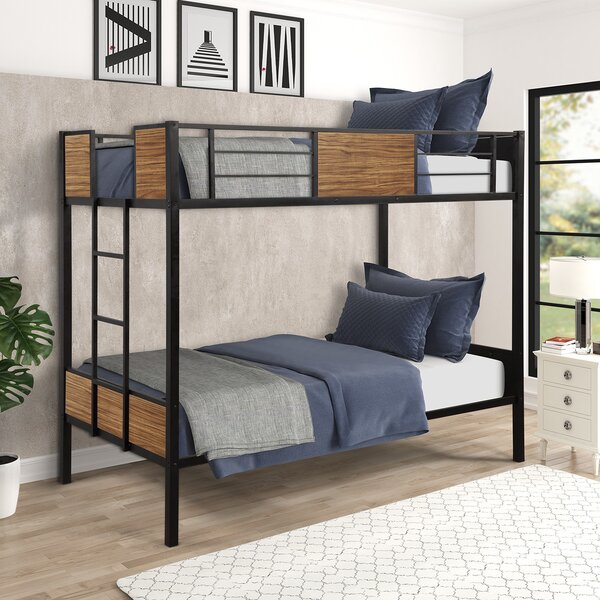Rogersen Bunk Bed by Harriet Bee