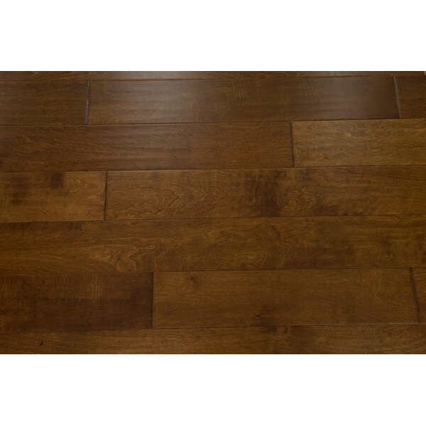 Helsinki 5 Engineered Birch Hardwood Flooring in Caramel by Branton Flooring Collection