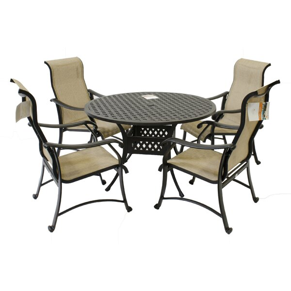 Pols 5 Piece Dining Set by Red Barrel Studio