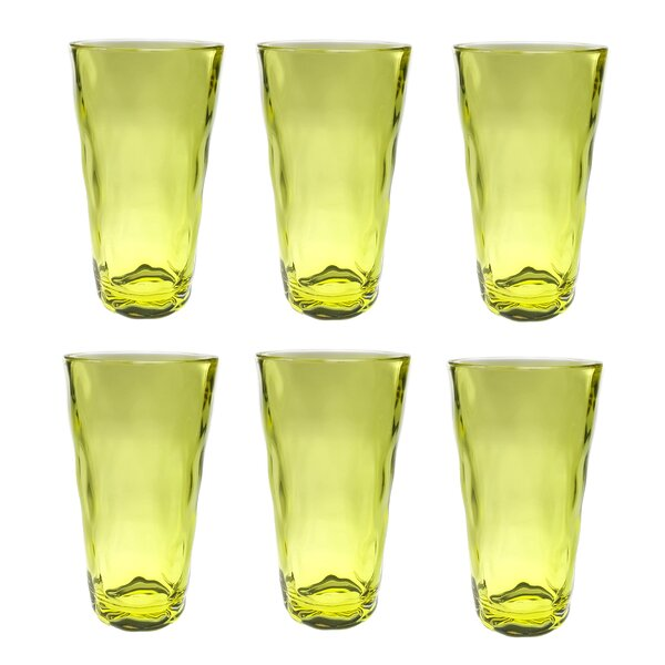 Southern 22 oz. Plastic Every Day Glass (Set of 6) by Latitude Run