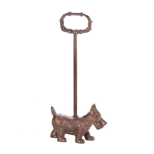 Doggy Cast Iron Floor Stop by Zingz & Thingz