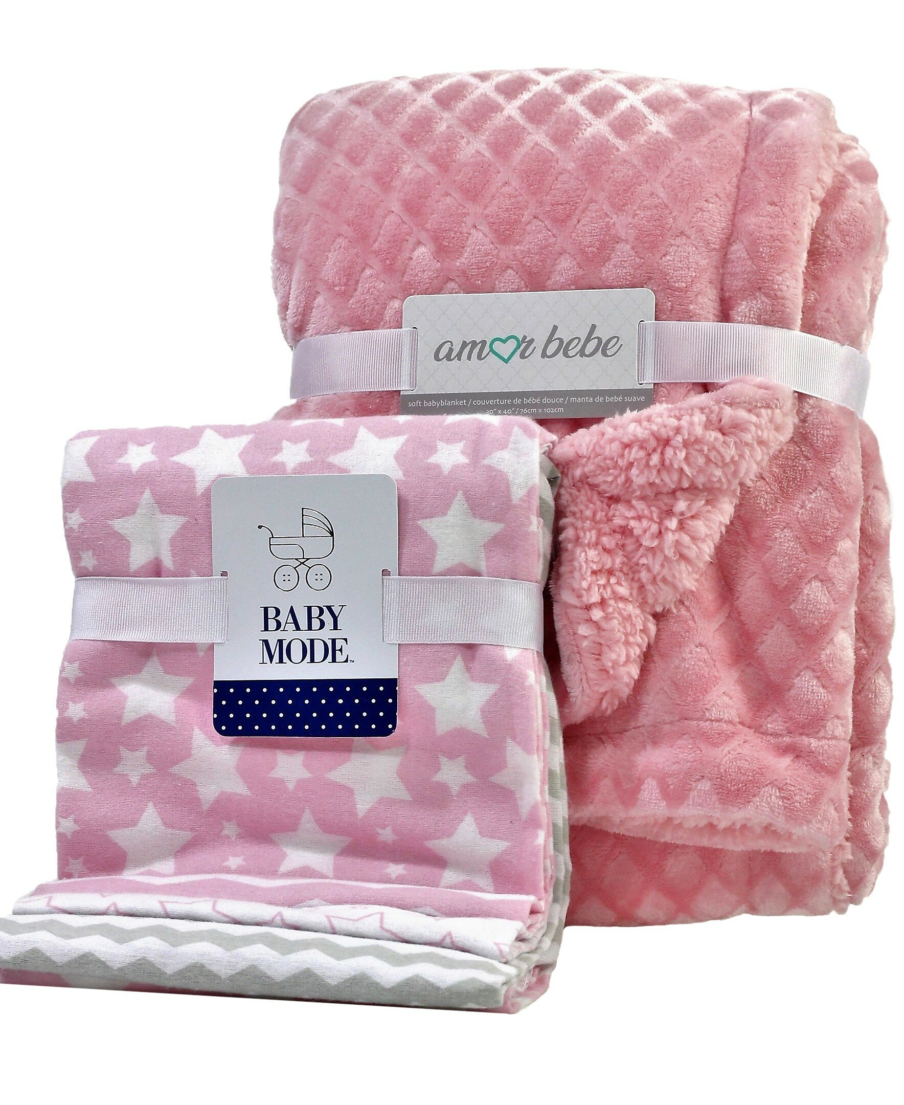 CLASSIC WINNIE THE POOH BABY GIRL COTTON FLANNEL RECEIVING SWADDLE BLANKET