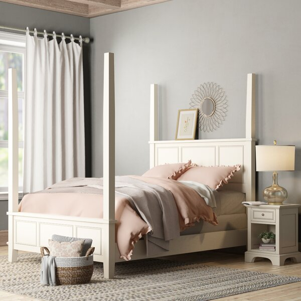 Barnard Four Poster 2 Piece Platform Bedroom Set by Birch Lane™ Heritage