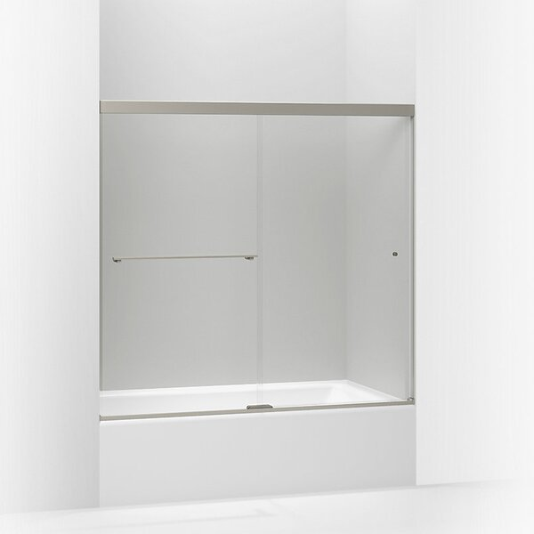 Revel 59.63'' x 62'' Double Sliding Bath Door with CleanCoat® Technology by Kohler