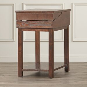 Tiverton Traditional End Table by Alcott Hill