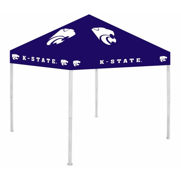 Ncaa 9 Ft W X 9 Ft D Steel Pop Up Canopy By Rivalry.