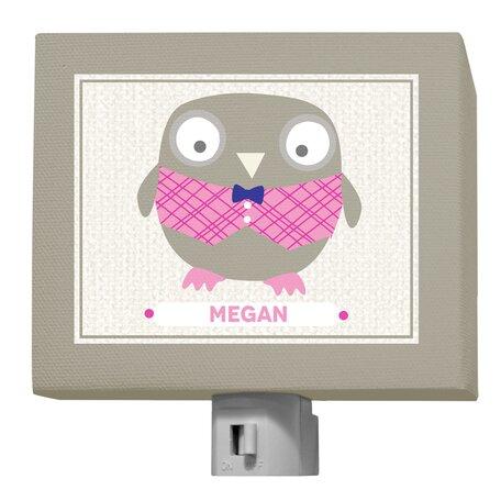 Oopsy Daisy Happy Owl Megan Night Light by GreenBox Art