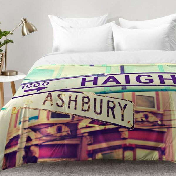 Haight Ashbury Comforter Set by East Urban Home