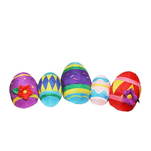 Inflatable Easter Eggs Decoration by Northlight Seasonal