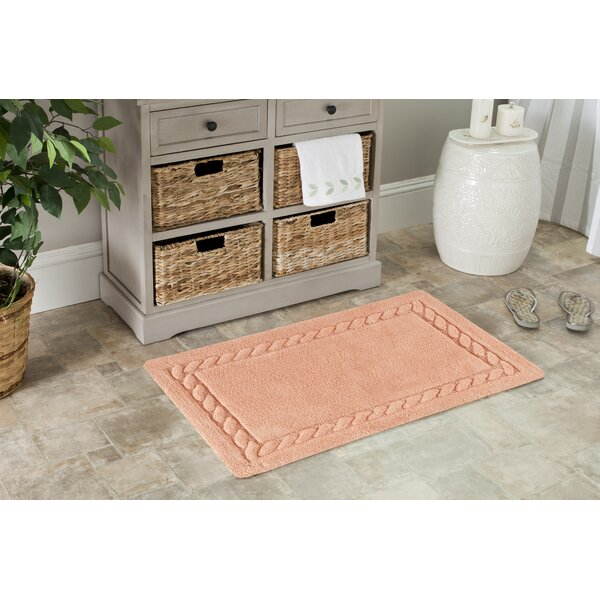 Newthorpe Bath Rug by Rosecliff Heights