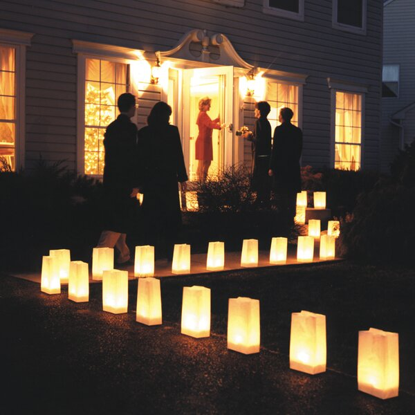 Candle Luminaria Kit (Set of 12) by Luminarias