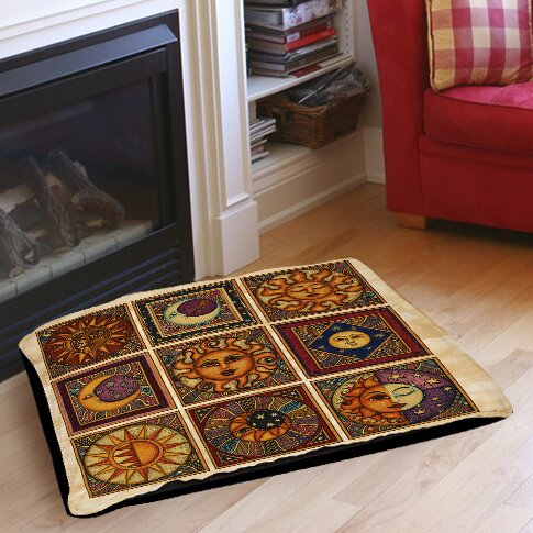 Celestial Squares Indoor/Outdoor Pet Bed by Manual Woodworkers & Weavers