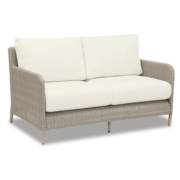 Manhattan Loveseat with Cushions by Sunset West