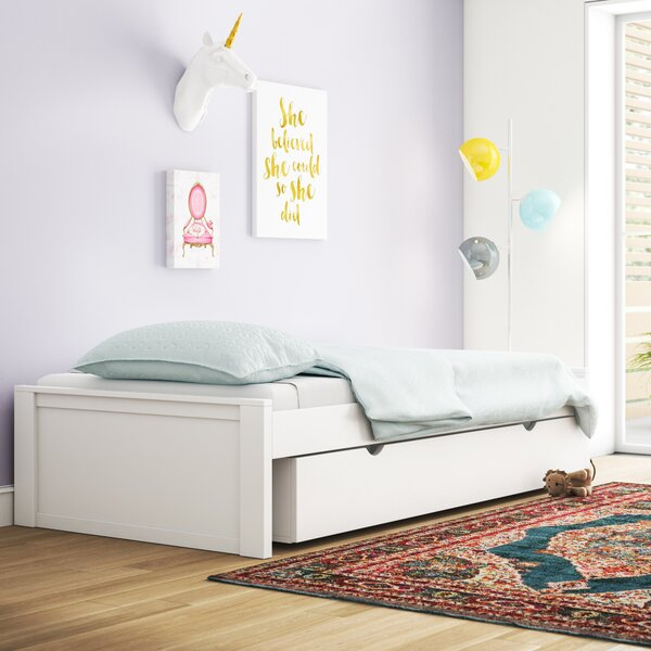 Granville Platform Bed with Trundle by Three Posts Baby & Kids