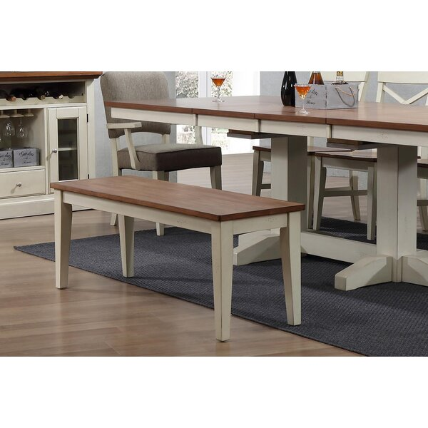 Hayden Dining 2 Tone Bench by Ophelia & Co.